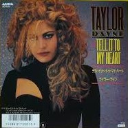 TAYLOR DAYNE - Tell IT To My Heart - 45T (EP 4 titres)