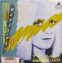 AMANDA LUCCI - Cry Out In the Night - 45T (EP 4 titres)