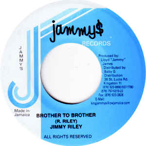JIMMY RILEY - Brother to Brother - 45T (EP 4 titres)