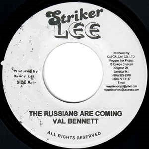 VAL BENNETT - The RussiansAre Coming - 45T (EP 4 titres)