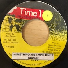 SANCHEZ - Something Just Ain't Right - 45T (EP 4 titres)