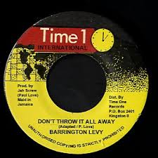BARRINGTON LEVY - Don't Throw It All Away - 45T (EP 4 titres)