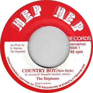 HEPTONES, THE - Country Boy - 33T